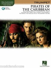 PIRATES OF THE CARIBBEAN Music Book & AUDIO PLAYALONG  for TRUMPET LEARN FILM