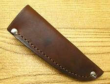Sheath only Leather Fixed Blade Knife belt Sheath for patch knife or other