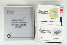 PANASONIC OPERATING INSTRUCTIONS/MANUALS/LITERATURE LARGE LOT