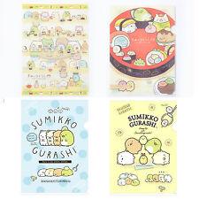 Genuine Lot 4 San-X Sumikko Gurashi A4 File Folder Clear File Document Bag Cute