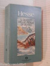 IL GIUOCO DELLE PERLE DI VETRO Hermann Hesse Magister Ludi Josef Knecht romanzo