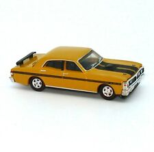 NEW 1971 Ford Falcon XY GTHO Phase III 1:87 Yellow Ochre Diecast Model Car Cooee