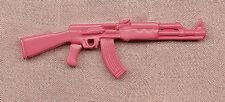 Empire Pewter Pink AK47 Pewter Gun Pin