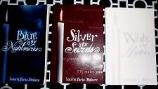 LOT 3 - LAURIE FARIA STOLARZ - WHITE - SILVER - BLUE - YOUNG ADULT - PARANORMAL
