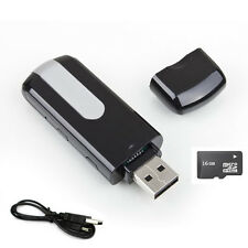 16GB HD 1280*960 USB Disk Hidden Mini DVR DV Camera Camcord Spy Video Recorder