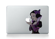 Snow White Princess Disney Goth P Sticker Vinyl Decal Macbook Air/Pro/Retina 13""