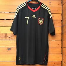 MEN'S ADIDAS GERMANY DEUTSCHER FUSSBALL-BUND BLACK SOCCER JERSEY, SIZE XL