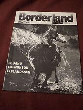 Borderland magazine #1 1984 Canadian dark fantasy Jessica Amanda Salmonson