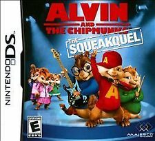 NINTENDO DS ALVIN AND THE CHIPMUNKS THE SQUEAKQUEL NEW & SEALED FREE SHIPPING