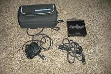 GBA  Black Console SP,  power supply with carrying case Bundle.  NO GAMES
