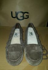 I heart ugg slippers shoes juniors girl size 4 Lily Model 1013574 chocolate