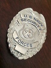 *OBSOLETE* U.S. Navy Master At Arms Security Forces Military Police Badge