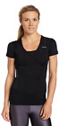 REEBOK Easy Tone Womens Running Fitted Shirt Gym Yoga Exercise Top XS S M L NEW
