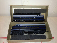 Athearn HO Train Engine B&O F-7 A&B Diesel Locomotive Dummy & Super Power
