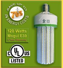 120W LED Corn Bulb, (Metal Halide 400W Replacement) 13,200 Lumens, UL Listed