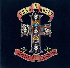 GUNS N' ROSES : APPETITE FOR DESTRUCTION / CD (GEFFEN GED 24148)