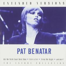 PAT BENATAR : EXTENDED VERSIONS (CD) sealed