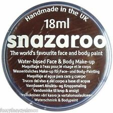 PROFESSIONAL 18ml DARK BROWN A Team Mr T SNAZAROO FACE & BODY PAINT MAKE UP