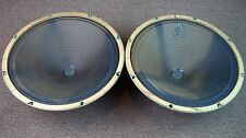 "Magnavox 583975 15"" Woofers / Vintage Matching Woofers / Alnico Magnets"