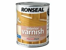 Ronseal - Interior Varnish Quick Dry Satin Clear 750ml - 36871