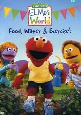 Sesame Street: Elmo's World - Food, Water and Exercise! (2005, REGION 1 DVD New)
