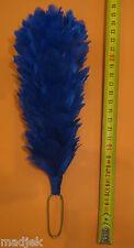 Plumet de couleur bleue pour shako  Ecole de Gendarmerie, contemporain.