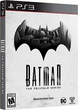 PLAYSTATION 3 BATMAN TELLTALE SERIES SEASON PASS DISC BRAND NEW