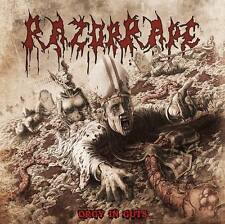 RAZOR RAPE - CD - Orgy In Guts - new album 2015 (Razorrape, Spasm, Jig Ai)