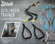 Schlingentrainer & DVD SlingTraining Sportgerät-Fitness Full Body PROFI Workout
