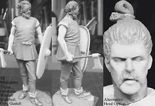 SK Miniatures Germanic Barbarian Warrior (2 head options) 75mm Unpainted Kit