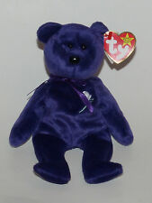 Ty Beanie Babies Original Princess Diana MWMT Rare Misspelled Hang Tag