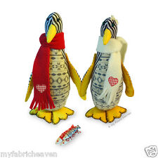 """Cute Piccolo PENGUIN 8"""" Soft Toy Sewing Easy to follow PATTERN & Instructions"""