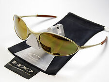 OAKLEY C WIRE PLATINUM GOLD SONNENBRILLE WHISKER INMATE HALF INMATE SQUARE WHY 8