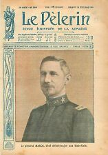 Portrait General Peyton Conway March Army Chief of Staff US Army USA 1918 WWI