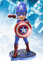 "NECA THE AVENGERS MOVIE BOBBLE HEAD KNOCKER - 7"" CAPTAIN AMERICA HEADKNOCKER NEW"