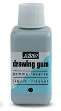 Pebeo Drawing Gum / Tinted Masking Fluid for Watercolour - Large 250ml Bottle