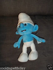 THE  SMURFS PLUSH DOLL FIGURE CHARACTER  CLUMSY 2011  JAKKS PACIFIC TOY