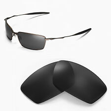New WL Polarized Black Replacement Lenses For Oakley Square Whisker Sunglasses