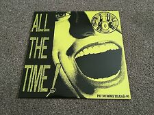 CULTURE SHOCK - ALL THE TIME ! - 1989 LP SUBHUMANS ANARCHO PUNK EX/EX MORE LOOK!
