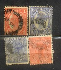 Australia States Old Stamps---Queensland