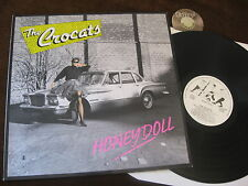 LP Crocats Honey Doll Germany 1989 Holland Psychobilly LP  | M- to EX