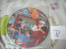 "a941981 Early Christmas HK New Year Picture Disc 7"" 小木偶 咩到得 歡樂聖誕 快樂新年 (D)"