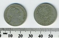 Portugal 1929 - 50 Centavos Copper-Nickel Coin - Liberty head right - #2