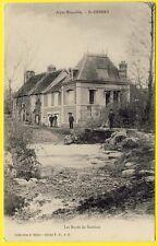 cpa Alpes Mancelles 61 - SAINT CÉNERI le GÉREI (Orne) Les Bords du SARTHON Animé