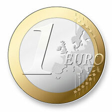Magnet Aimant Frigo Ø38mm  Image Monnaie Euro Europe Coin Piece Currency Money