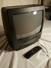 """Cmc13003 Curtis Mathew Vhs Tv Combo 13"""" Color with remote CRT"""