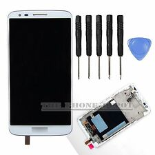 White For LG Optimus G2 D802 LCD Display Digitizer & Touch Screen & Frame in UK