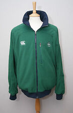 Canterbury Ireland rugby IRFU reversible green fleece lined blouson jacket XL