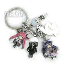 Date A Live Cosplay 5 Main Characters Key Chain Ring KeyChain #07