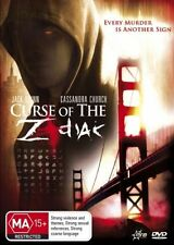 Curse of the Zodiac DVD FREE LOCAL POST NEW & SEALED REGION 4